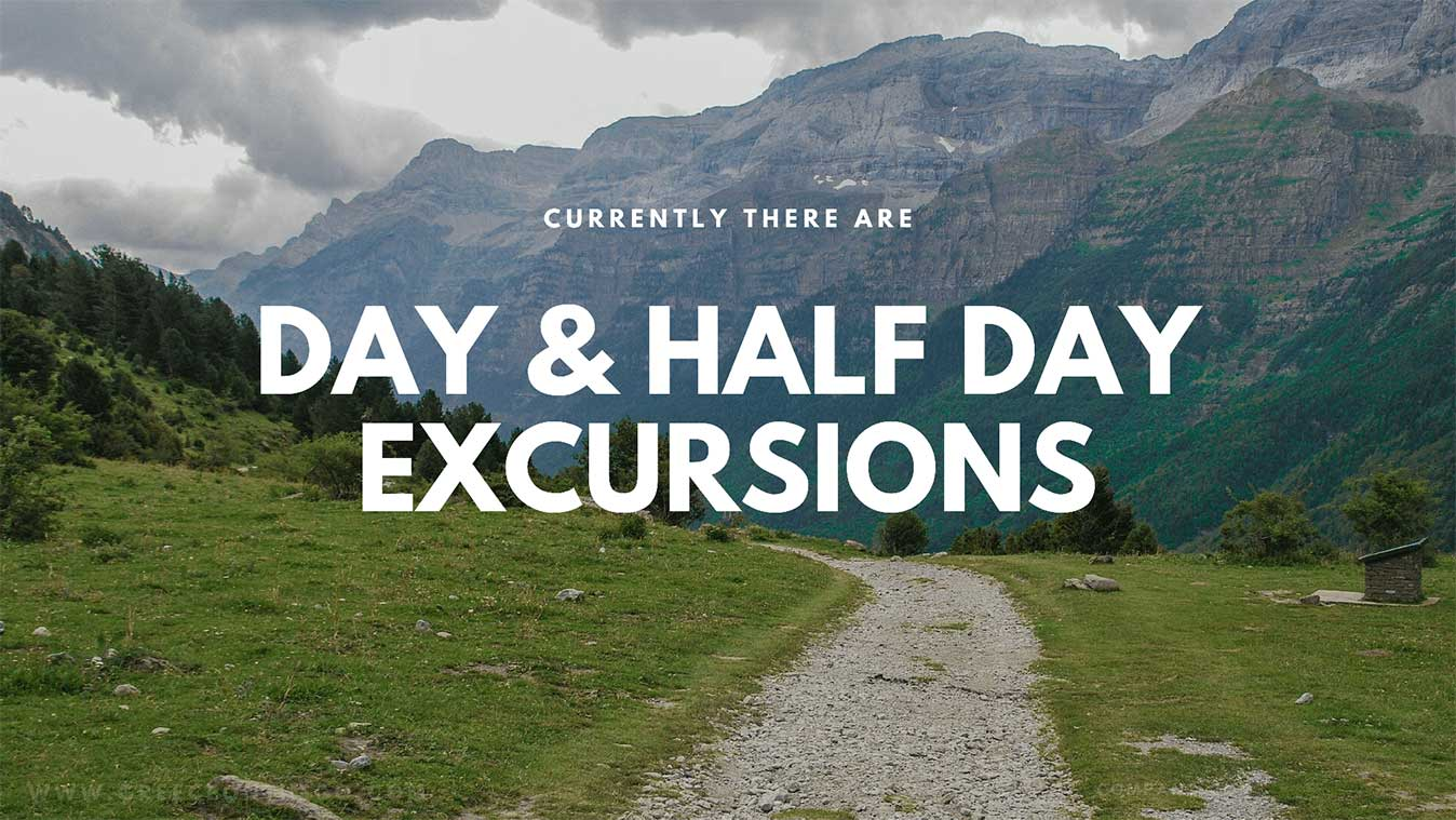 day and half day excursions